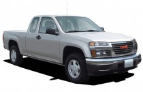 "2005 GMC Canyon Ext Cab 125.9"" WB SL Z85 Angular Front Exterior View"