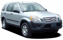 2005 Honda CR-V 4WD LX AT Angular Front Exterior View