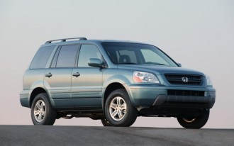 Honda Pilot, Acura MDX Recall Deals With Brake Problem