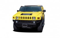2005 HUMMER H2 4-door Wagon SUV Angular Front Exterior View