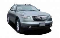 2005 Infiniti FX35 4-door AWD Angular Front Exterior View