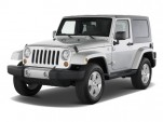 2010 Jeep Wrangler 4WD 2-door Sahara Angular Front Exterior View