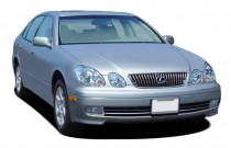 2005 Lexus GS 300 4-door Sedan Angular Front Exterior View