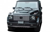 2005 Mercedes-Benz G Class 4-door 5.5L AMG 4WD Angular Front Exterior View