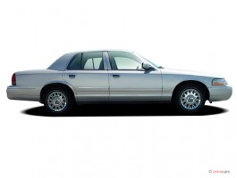 2005 Mercury Grand Marquis 4-door Sedan GS Convenience Side Exterior View