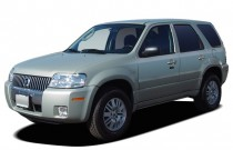 "2005 Mercury Mariner 4-door 103"" WB Luxury  4WD Angular Front Exterior View"
