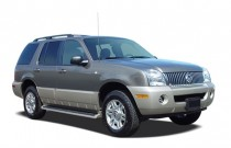 "2005 Mercury Mountaineer 4-door 114"" WB Luxury AWD Angular Front Exterior View"