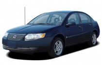 2005 Saturn Ion ION 2 4-door Sedan Manual Angular Front Exterior View