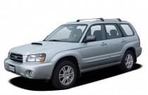 2005 Subaru Forester (Natl) 4-door 2.5 XT Auto w/Premium Pkg Angular Front Exterior View