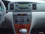 2005 Toyota Corolla 4-door Sedan LE Manual (Natl) Instrument Panel