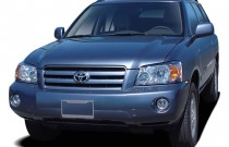 2005 Toyota Highlander 4-door V6 4WD Limited w/3rd Row (Natl) Angular Front Exterior View