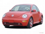 2005 Volkswagen New Beetle Coupe 2-door GLS Auto Angular Front Exterior View