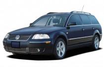 2005 Volkswagen Passat Wagon 4-door GLX V6 Auto Angular Front Exterior View