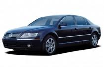 2005 Volkswagen Phaeton 4-door Sedan V8 6-spd Auto Angular Front Exterior View