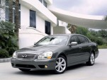 2005 Infiniti Q45 - front