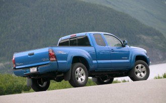 2004-2011 Toyota Tacoma Recalled For Seat Belt Flaw