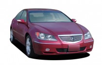 2006 Acura RL 4-door Sedan AT (Natl) Angular Front Exterior View