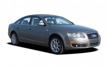 2006 Audi A6 4-door Sedan 3.2L quattro Auto Angular Front Exterior View