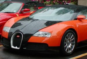 Today's Heinous Car Pics: 2006 Bugatti Veyron, Halloween Edition