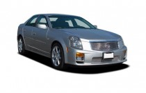 2006 Cadillac CTS-V 4-door Sedan Angular Front Exterior View