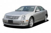 2006 Cadillac STS 4-door Sedan V8 Angular Front Exterior View