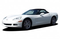 2006 Chevrolet Corvette 2-door Convertible Angular Front Exterior View