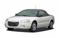 2006 Chrysler Sebring Convertible 2-door Limited Angular Front Exterior View