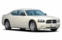 2006 Dodge Charger 4-door Sedan RWD Angular Front Exterior View
