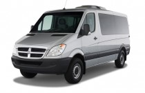"2009 Dodge Sprinter Wagon 2500 144"" Angular Front Exterior View"