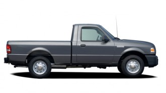 "2006 Ford Ranger Reg Cab 112"" WB XL Side Exterior View"