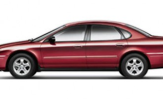 2005-2006 Ford Taurus Investigated For Sudden Acceleration
