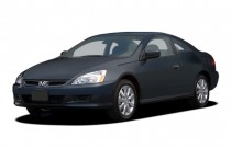 2006 Honda Accord Coupe EX AT Angular Front Exterior View