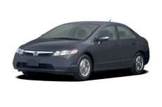2006 Honda Civic Hybrid CVT Angular Front Exterior View
