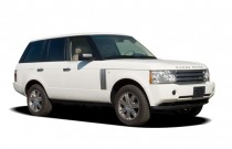 2006 Land Rover Range Rover 4-door Wagon HSE Angular Front Exterior View