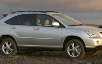 Toyota Recalls 2006 & 2007 Highlander Hybrid & Lexus RX 400h