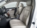 2006 Lincoln Zephyr 4-door Sedan Front Seats