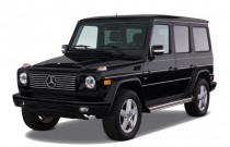 2008 Mercedes-Benz G Class 4WD 4-door 5.0L Angular Front Exterior View