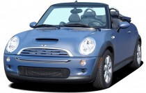 2006 MINI Cooper Convertible 2-door Convertible S Angular Front Exterior View