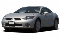 2006 Mitsubishi Eclipse 3dr Coupe GT 3.8L Sportronic Auto Angular Front Exterior View