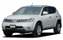 2006 Nissan Murano 4-door SE V6 AWD Angular Front Exterior View