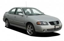 2006 Nissan Sentra 4-door Sedan SE-R Spec V Manual Angular Front Exterior View