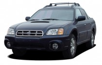 2006 Subaru Baja 4-door Sport Manual Angular Front Exterior View