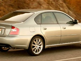 2006 Subaru Legacy Sedan 2.5 GT Spec B