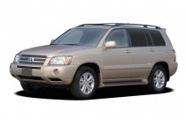 2006 Toyota Highlander Hybrid 4-door 2WD LTD (Natl) Angular Front Exterior View