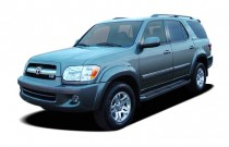 2006 Toyota Sequoia 4-door Limited (Natl) Angular Front Exterior View