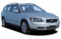 2006 Volvo V50 2.5L Turbo Manual Angular Front Exterior View