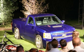 Chevrolet Pumps Trucks at SEMA