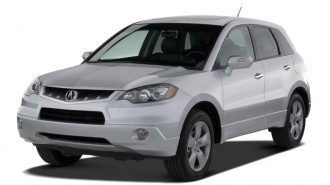 2007 Acura RDX 4WD 4-door Tech Pkg Angular Front Exterior View