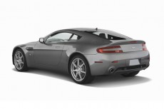 2007 Aston Martin Vantage 2-door Coupe Manual Angular Rear Exterior View