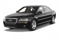 2007 Audi A8 L 4-door Sedan 4.2L Angular Front Exterior View